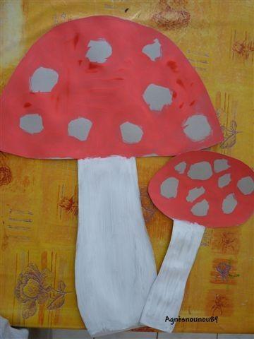 Atelier automne page 3 - Dessiner un champignon ...