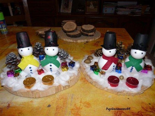 Centre de table centerblog - Faire un centre de table pour noel ...