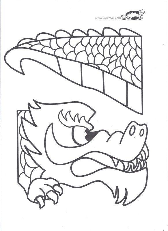 Le dragon 2013 - Dessin de tete de dragon ...