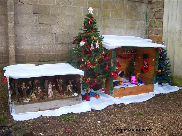 D co ext rieure - Idee decoration creche noel ...