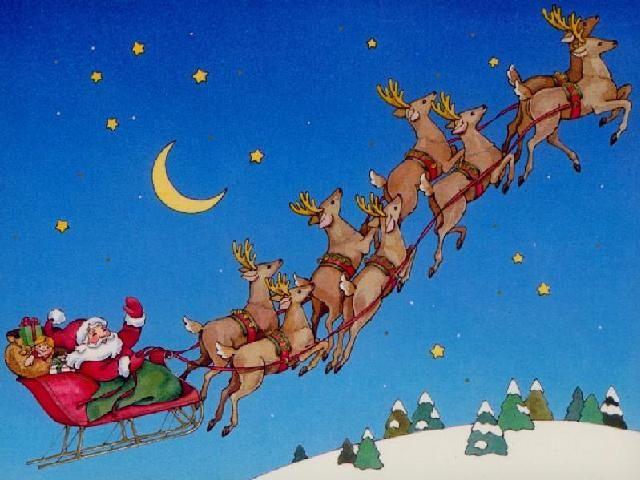 origines des 8 rennes du père Noël